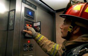 Можно ли пользоваться лифтом при пожаре