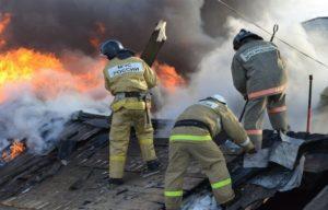 Как проходит ликвидация пожара