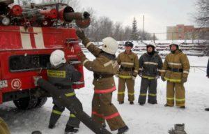 Пожарно-строевая подготовка
