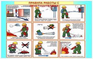 Как избежать взрыва огнетушителя