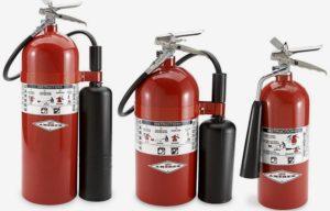 Какой должна быть бирка на огнетушитель