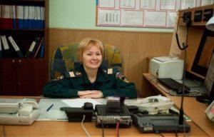 Женские профессии в пожарной службе