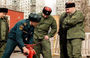Отряды добровольцев для пожаротушения