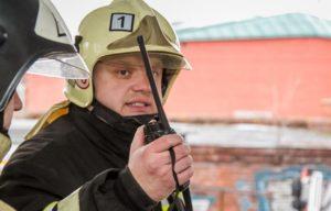 Структура гарнизонов пожарной охраны