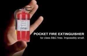 Как пользоваться карманным огнетушителем Pocket Fire Extinguisher