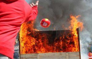 Принцип действия самосрабатывающих огнетушителей «Орион»