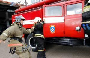 Сдача нормативов по пожарно-строевой подготовке