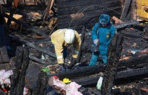 Алгоритм осмотра места происшествия на пожарах