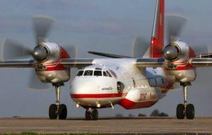 Какие самолет используют для тушения пожаров в России