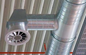 Как распределяются газовые потоки во время пожара внутри здания