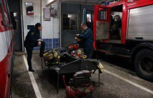 Работа караульной службы в пожарной части