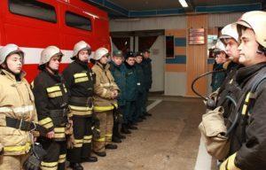 Обязанности караульной службы в пожарной части