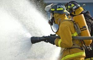 Пена для пожаротушения