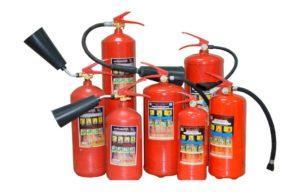 Технические характеристики огнетушителей «Ярпожинвест»