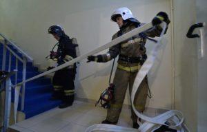 Как тушат пожары подразделения пожарной охраны