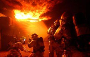 Обратная тяга при пожаре