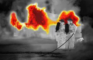 Как определить очаг возгорания
