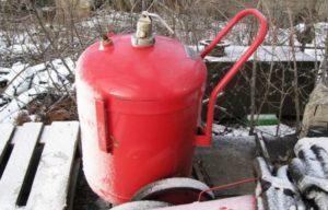Как работает огнетушитель овп 100