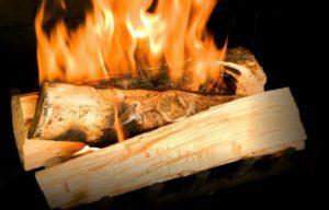 Температура возгорания древесины