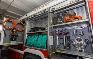 Электрооборудование в пожарной машине