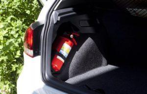Как хранить огнетушитель в автомобиле
