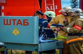 Оперативный штаб пожаротушения