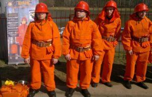 Отзывы о пожарном костюме добровольца «Шанс»