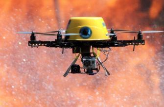 Применение дронов в тушении пожаров