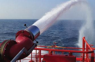 Разновидности судовых систем пожаротушения