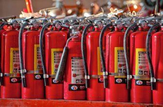 Сколько весит огнетушитель - основные показатели