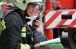 Организация радиосвязи на пожаре