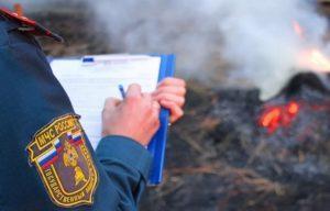 Причины возгорания травы