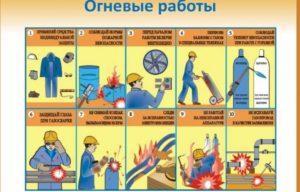 Виды пожароопасных работ