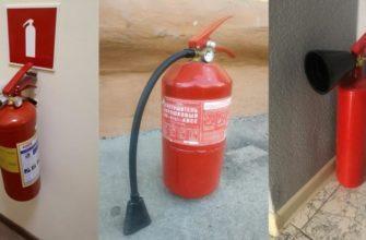 Переносные огнетушители - требования ГОСТа