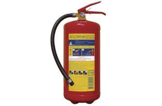 Порошковый огнетушитель ОП-8 - характеристики и срок годности
