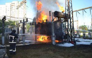 Причины возникновения пожаров на производстве