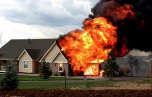 Основные условия возникновения пожаров