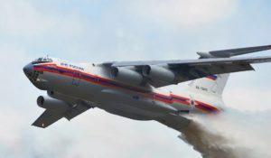 Сколько воды набирает самолет для тушения пожаров