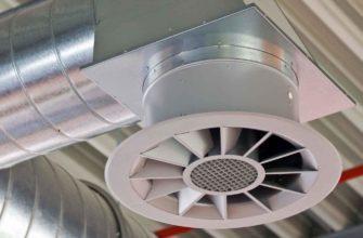 Структура и принцип работы системы подпора воздуха при пожаре