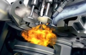 При какой температуре горит моторное масло