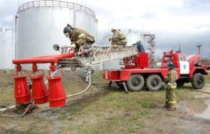 Пожарная безопасность резервуаров для ГСМ
