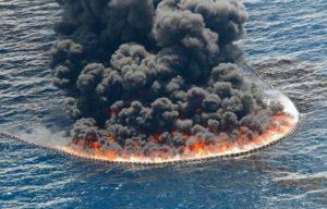 Пожар нефти