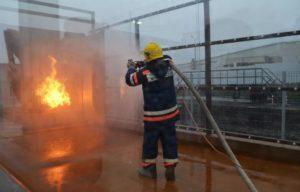 Тушение пожаров на подстанциях