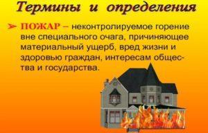Действия после пожара в жилище
