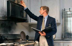 Как устранить последствия пожара