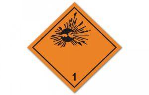 Знаки опасности легковоспламеняющихся жидкостей