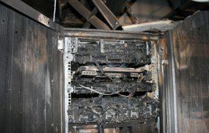Газовое пожаротушение в серверной