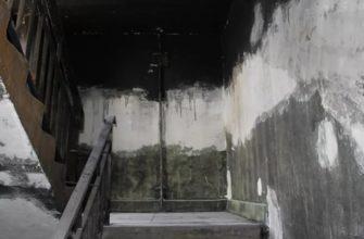 Ремонт подъезда после пожара