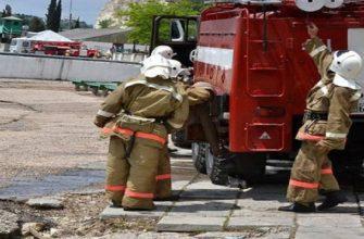 Акт проведения противопожарных тренировок