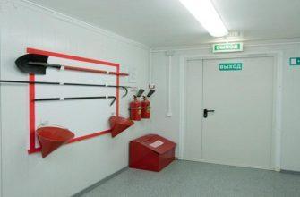 Требования к путям эвакуации при пожаре